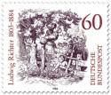 Briefmarke: Zeichnung von Ludwig Richter (Zeichner)