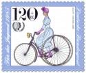 Briefmarke: Adler Dreirad 1887