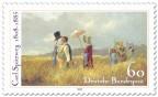 Briefmarke: Sonntagsspaziergang von Carl Spitzweg (Maler)