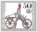 Briefmarke: Draisine Laufrad 1817