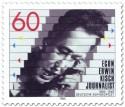 Briefmarke: Egon Erwin Kisch (Journalist)