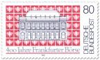 Briefmarke: 400 Jahre Frankfurter Börse