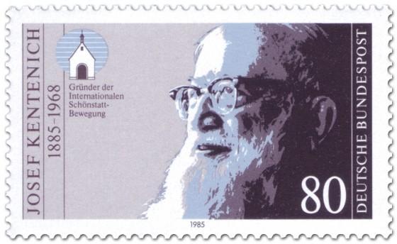 Briefmarke: Josef Kentenich (Gründer der Schönstatt-Bewegung)