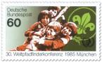 Briefmarke: Kinder - Weltpfadfinderkonferenz