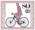Briefmarke: Kreuzrahmen Niederrad