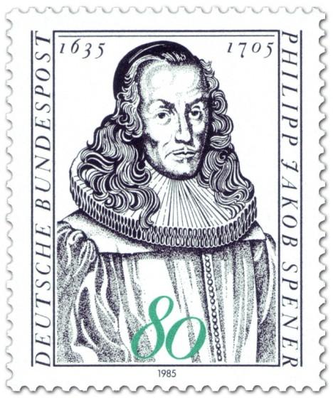 Briefmarke: Philipp Jakob Spener (Begründer der Heraldik)