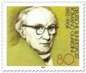 Briefmarke: Romano Guardini (Theologe)