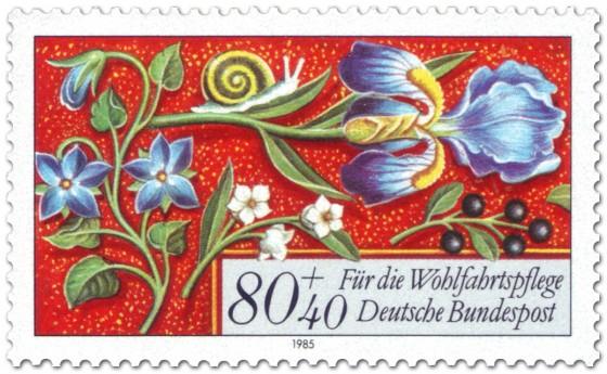 Briefmarke: Wohlfahrtsmarke Briefmarke