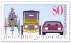 Automobil Briefmarke