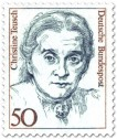 Briefmarke: Christine Teusch (Politikerin)