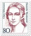 Briefmarke: Clara Schumann (Pianistin)