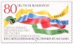 Briefmarke: Farbige Bänder (Cartellverband)