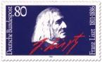 Briefmarke: Franz Liszt (Komponist)