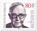 Briefmarke: Karl Barth (Theologe)