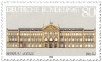 Briefmarke: Museum König in Bonn