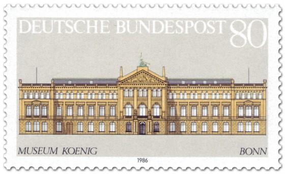 Briefmarke: Museum König in Bonn
