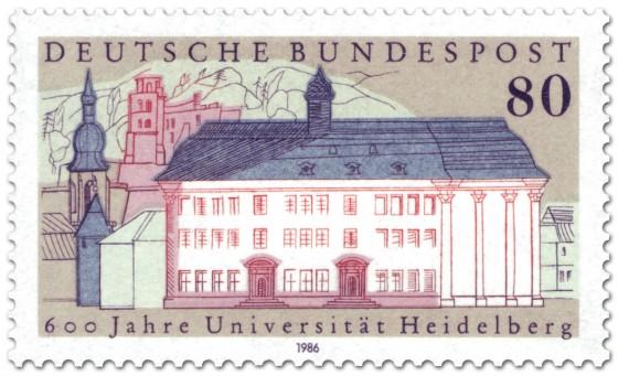 Briefmarke: 600 Jahre Universität Heidelberg