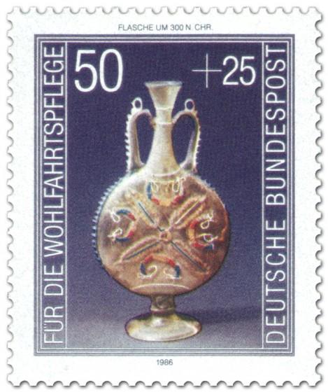 Briefmarke: Zierflasche mit Fadendekor
