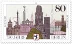 Briefmarke 750 Jahre Berlin (Sehenswürdigkeiten)