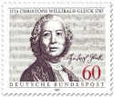 Briefmarke: Christoph Willibald Gluck(Komponist)