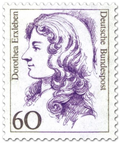 Briefmarke: Dorothea Erxleben Ärztin