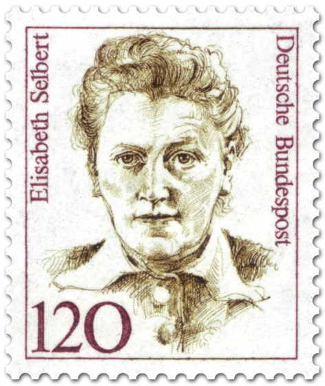 Briefmarke: Elisabeth Selbert Politikerin
