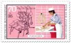 Briefmarke: Fleischer, Schlachter