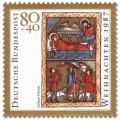 Briefmarke: Geburt Christi (Weihnachtsmarke 1987)