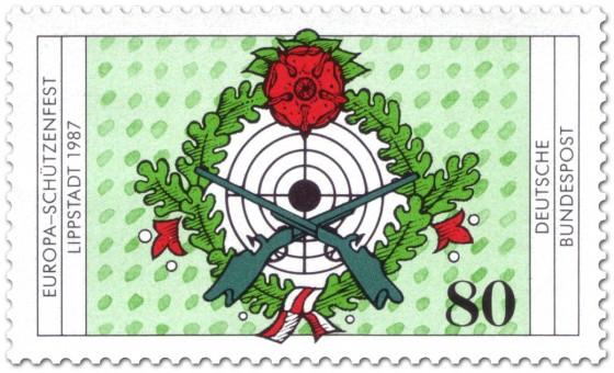 Briefmarke: Europa Schützenfest Lippstadt