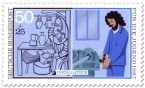 Briefmarke: Installateur, Handwerker
