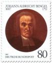 Briefmarke: Johann Albrecht Bengel (Theologe)