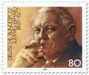 Briefmarke: Ludwig Erhardt (Bundeskanzler)