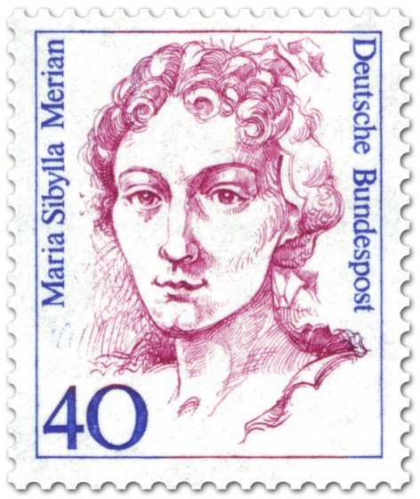 Marian Sibylla Merian (Briefmarke BRD 1987)