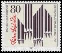Briefmarke: Orgel von Dietrich Buxtehude (Organist)