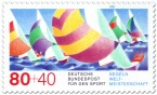 Briefmarke: Segelschiffe, Regatta (WM 87)
