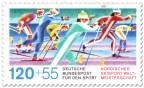 Briefmarke: Skilanglauf (WM 87)