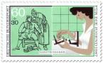 Briefmarke: Zahntechnik - Schönes Gebiss