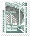 Briefmarke: Hauptportal der Zeche Zollern II in Dortmund