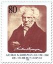 Briefmarke: Arthur Schopenhauer (Philosoph)