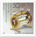 Briefmarke: Bergkristallreliquiar (um 1200)
