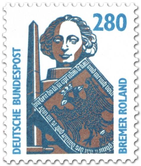 Briefmarke: Bremer Roland