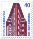 Briefmarke: Chilehaus Hamburg