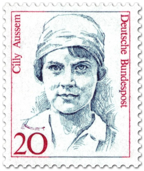 Briefmarke: Cilly Austem (Tennisspielerin)