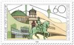Briefmarke: 700 Jahre Düsseldorf - Sehenswürdigkeiten