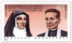 Briefmarke: Edith Stein und Rupert Mayer