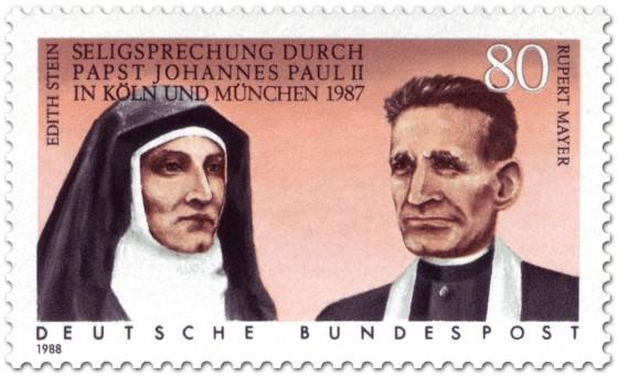 Briefmarke: Edith Stein und Rupert Mayer