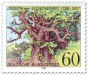 Briefmarke: Eiche für Joseph von Eichendorff (Dichter)