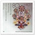 Briefmarke: Goldschmuck Blütenstrauß, um 1620