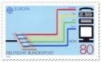 Briefmarke: ISDN Kabel-Verbindungen
