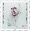 Briefmarke: Jean Monnet (Europäer)
